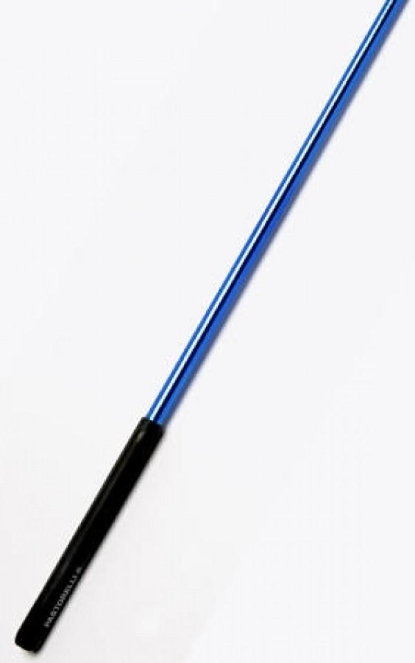 Bacchetta Pastorelli Mirror Blu con Impugnatura Nera 59,50 cm - 02397
