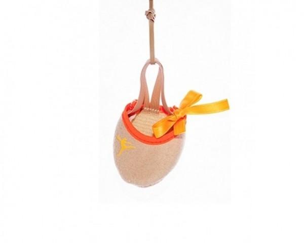 Mini Mezzapunta Portachiavi Cilluffo - Arancio Fluo