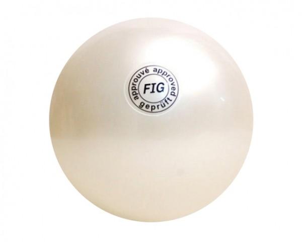 Palla Metallizzata per Corsi Bianca 18 cm