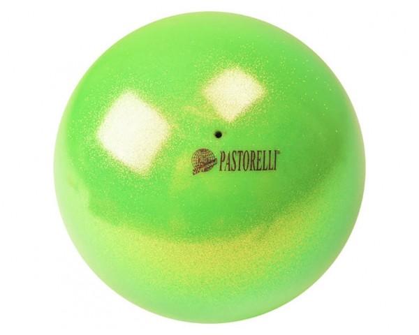 Palla Pastorelli diametro 18 cm Glitter Verde HV - 00036