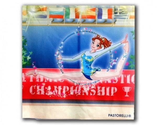 Panno Pastorelli in Microfibra illustrazione Stefy con Cerchio - 01434