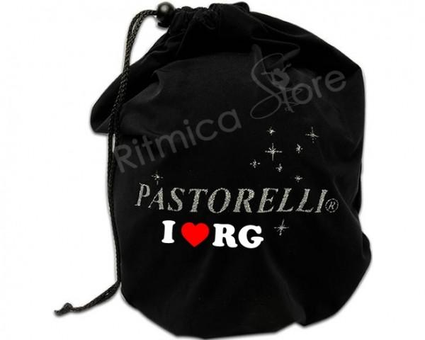 Portapalla in Microfibra Nero I Love RG