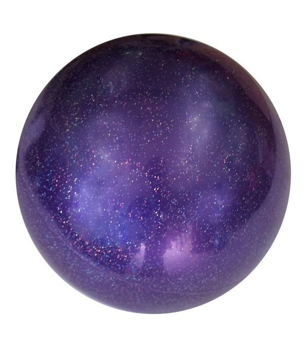 Palla Glitterata per Corsi Viola 18 cm