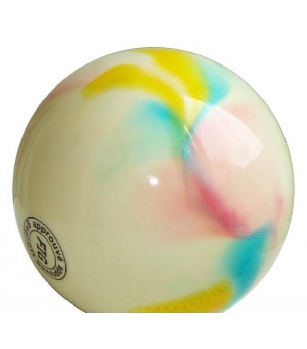 Palla Multicolor per Corsi Bianca-Rosa-Blu-Giallo 18 cm