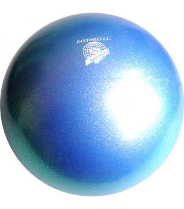 Palla Pastorelli diametro 18 cm Glitter Blu Zaffiro - 00043