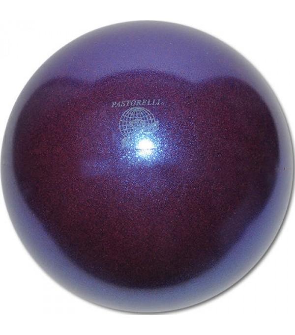 Palla Pastorelli diametro 18 cm Glitter Blueberry HV - 02814