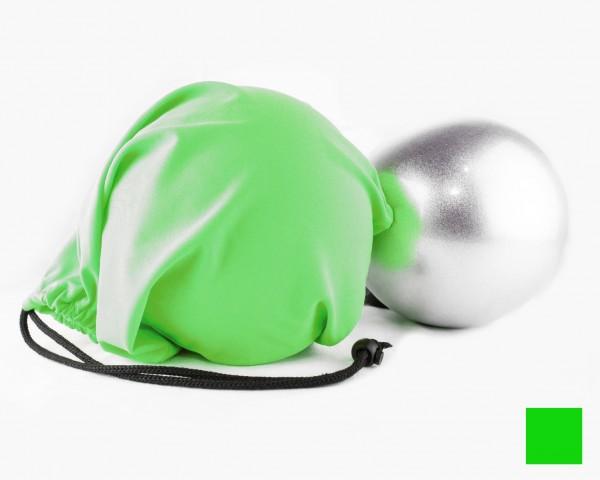 Portapalla in Lycra Verde Fluo personalizzabile