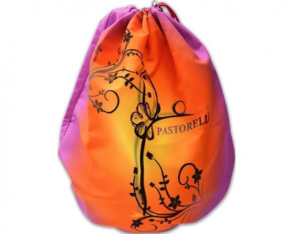 Portapalla Pastorelli Ilary in Microfibra sfumato Viola-Arancio - 03177
